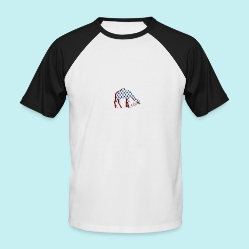 Camel Keffieh - T-shirt baseball manches courtes Homme
