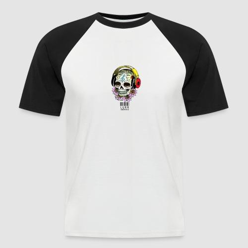 smiling_skull - Men's Baseball T-Shirt