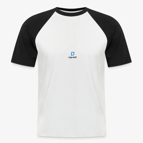 Leg end design - Men's Baseball T-Shirt