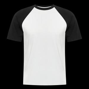 moonshine oversight blanc - T-shirt baseball manches courtes Homme