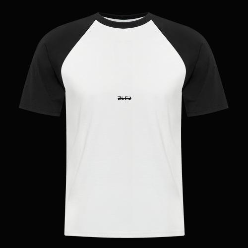 zeez poilu noir sur coté - T-shirt baseball manches courtes Homme