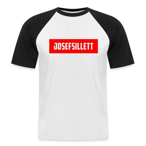 Josef Sillett Red - Men's Baseball T-Shirt