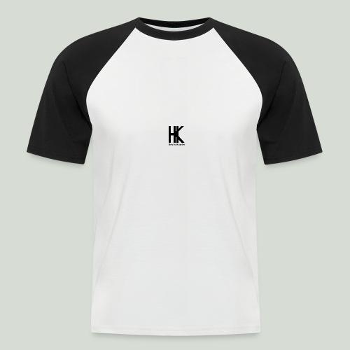 HK Logo - Mannen baseballshirt korte mouw