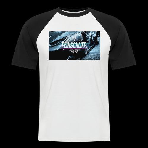 Feinschliff. Lambo Print - Männer Baseball-T-Shirt