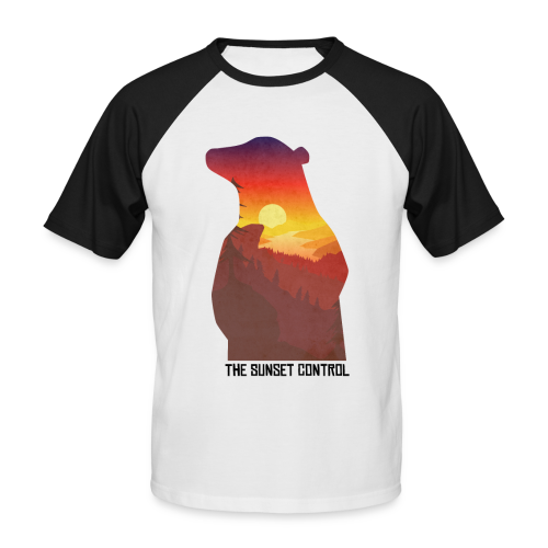 the sunset control_extreme quality edition - T-shirt baseball manches courtes Homme
