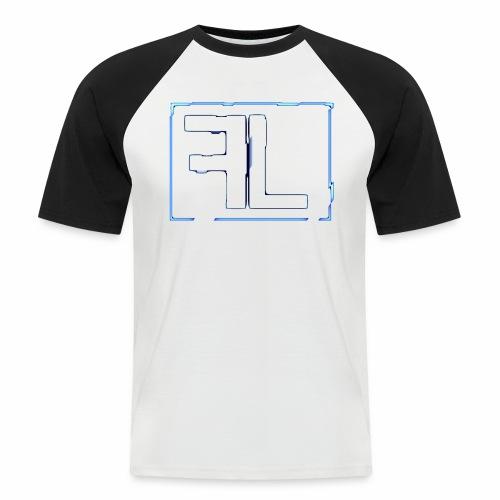 FL Logo - Männer Baseball-T-Shirt