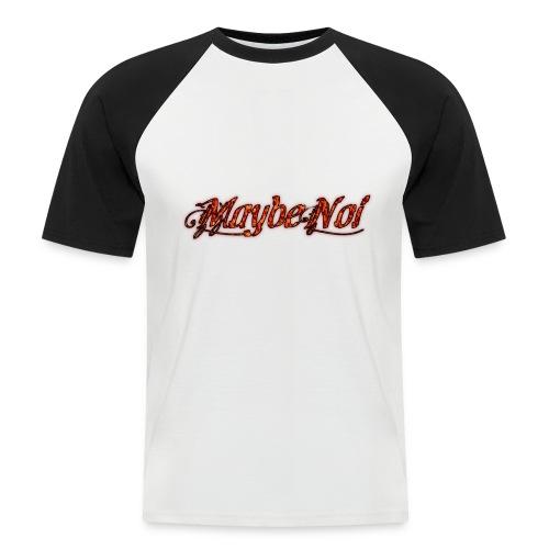 Premium Fire Logo - Männer Baseball-T-Shirt