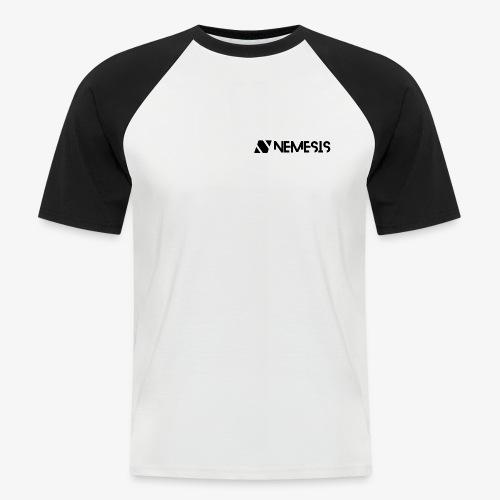 Nemesis Black Logo - Men's Baseball T-Shirt