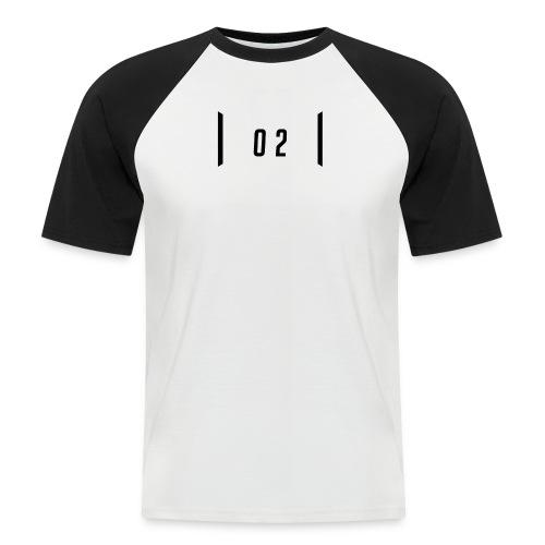 02 - Kortärmad basebolltröja herr