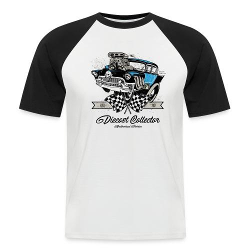 01 HW BrotherHood Logo DieCast Collector - Men's Baseball T-Shirt