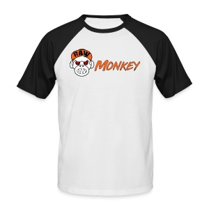 Raw Monkey Logo - T-shirt baseball manches courtes Homme