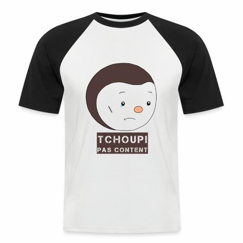 Tchoupi pas content ! - T-shirt baseball manches courtes Homme