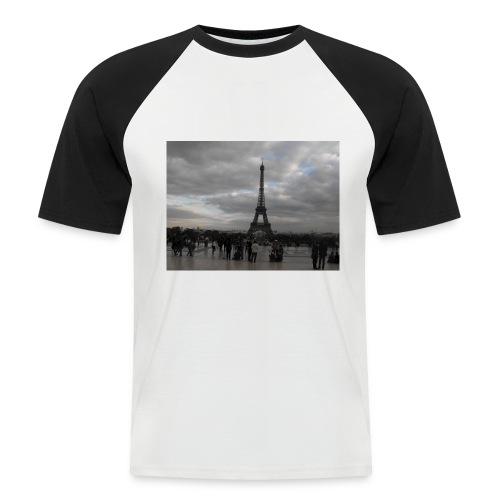Paris - Maglia da baseball a manica corta da uomo