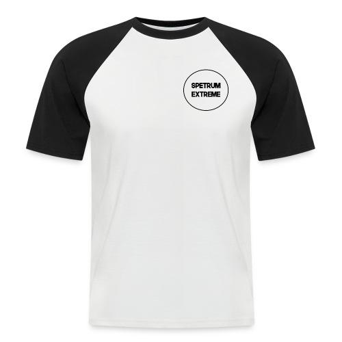 Front white Tee - Men's Baseball T-Shirt