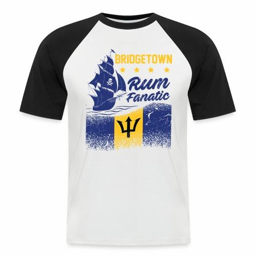 T-shirt Rum Fanatic - Bridgetown - Barbados - Koszulka bejsbolowa męska