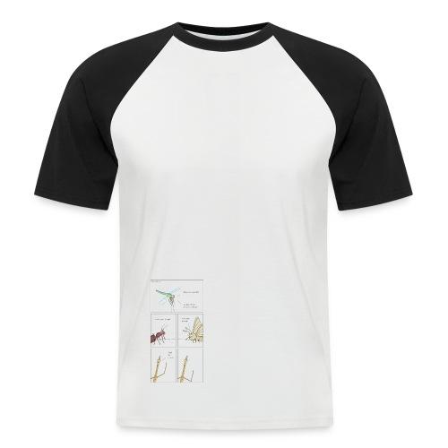 test test test test test test - Men's Baseball T-Shirt