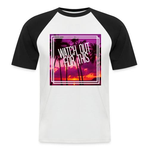 Camiseta WOFT - Camiseta béisbol manga corta hombre