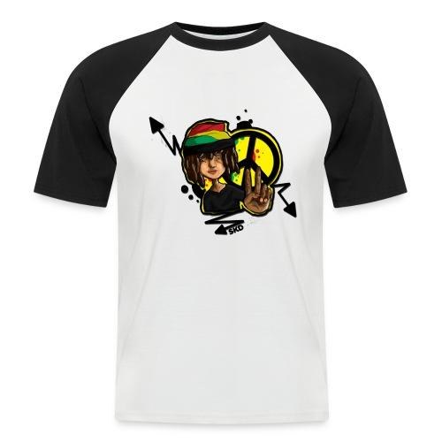 raxta - T-shirt baseball manches courtes Homme