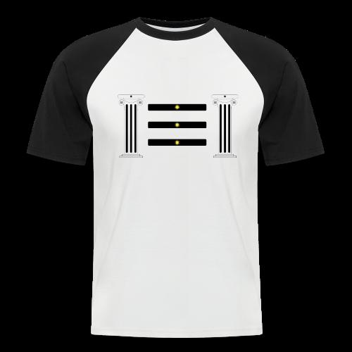 Lumières Des Congruences - T-shirt baseball manches courtes Homme