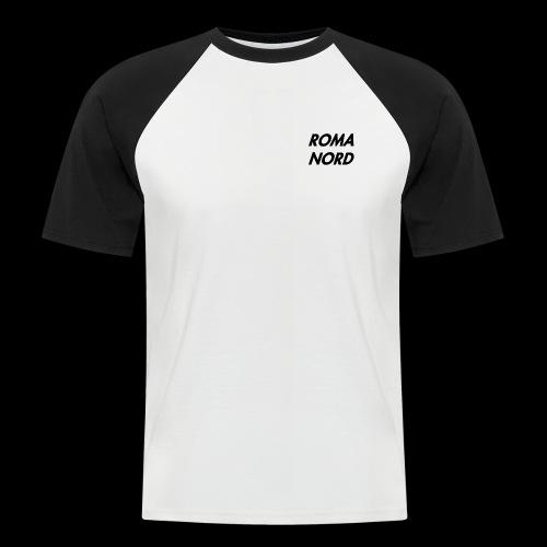 RomaNord1 - Maglia da baseball a manica corta da uomo