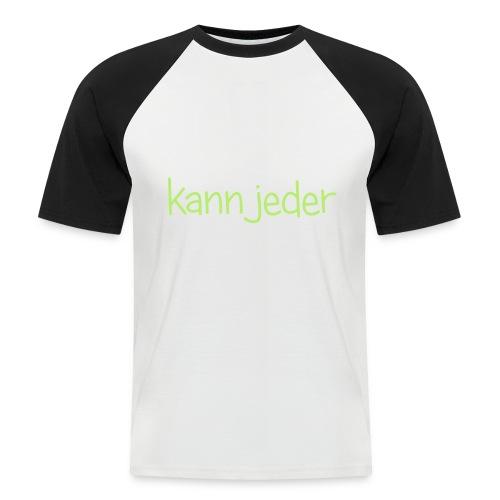 Normal kann jeder - Männer Baseball-T-Shirt