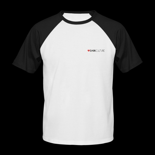 DarkCulture Streetwear logo - Maglia da baseball a manica corta da uomo