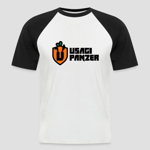 Usagi Panzer logo - Men's Baseball T-Shirt