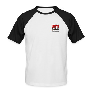 Let's Shoot Logo - Männer Baseball-T-Shirt