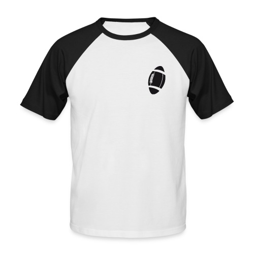 ballon rugby - T-shirt baseball manches courtes Homme