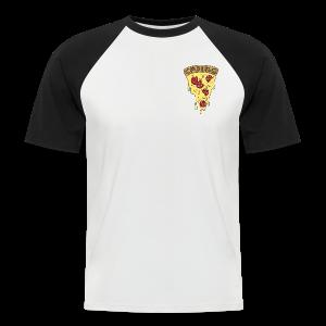 Pizza - Men's Baseball T-Shirt
