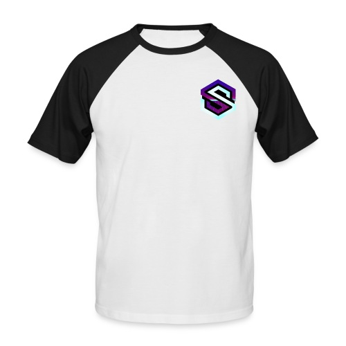 Rétro Wave - T-shirt baseball manches courtes Homme
