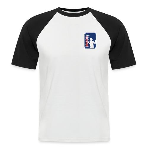 pgatuur kikkis logo - Miesten lyhythihainen baseballpaita