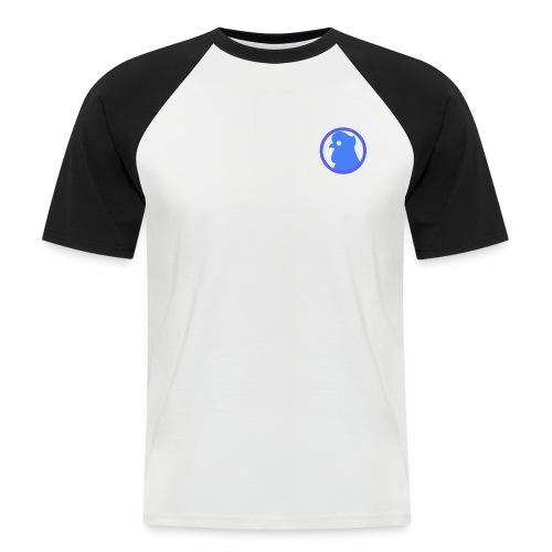 RoosterLapse merch - Mannen baseballshirt korte mouw