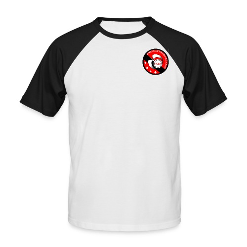 PCSA - Poker Club Strasbourg Alsace - T-shirt baseball manches courtes Homme