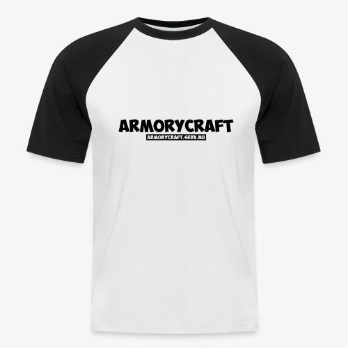 ArmoryCraft- Mannen korte mouw - Mannen baseballshirt korte mouw