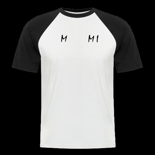 Miami Collection - Kortermet baseball skjorte for menn