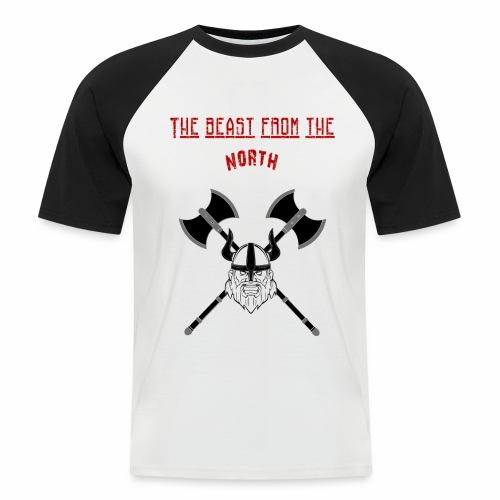 The Beast From The North - Kortärmad basebolltröja herr