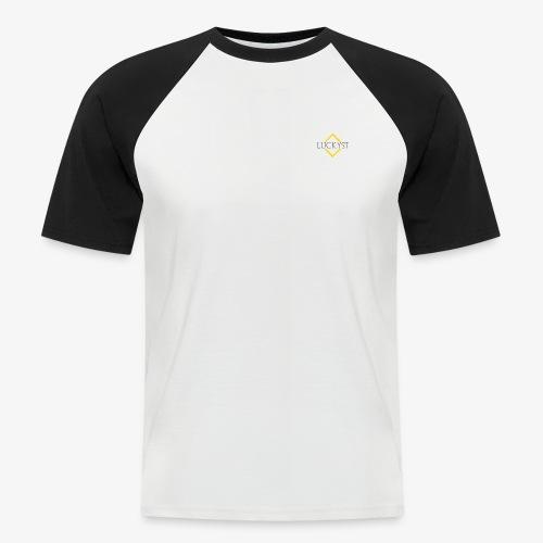 LuckystRaute Kopie - Männer Baseball-T-Shirt