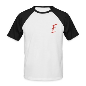 Radio Fugue F Rouge - T-shirt baseball manches courtes Homme