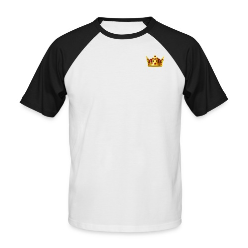 GoldCrown - Männer Baseball-T-Shirt