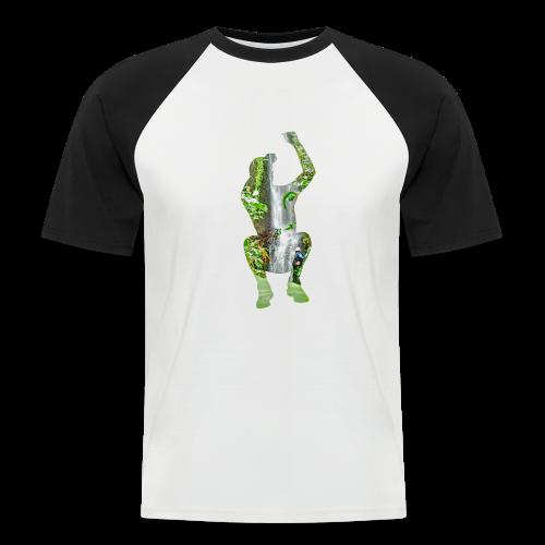 Jump into Adventure - Männer Baseball-T-Shirt