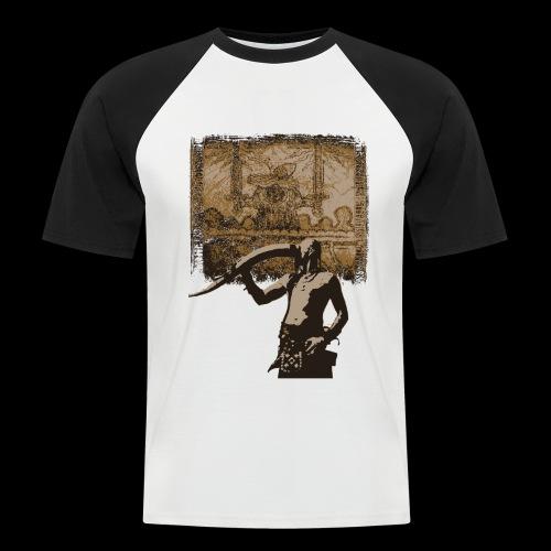 Buvons à la gloire de Svefnii - T-shirt baseball manches courtes Homme