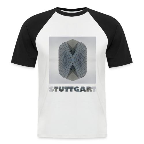 Stuttgart #1 - Männer Baseball-T-Shirt