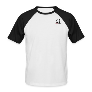 OMEGAGAMING Logo - Men's Baseball T-Shirt