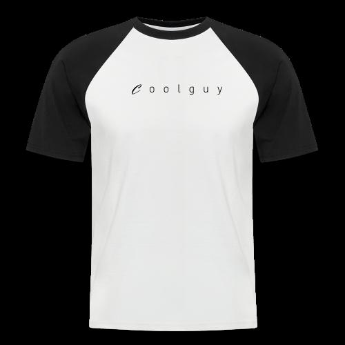 coolguy Collection - Kortermet baseball skjorte for menn