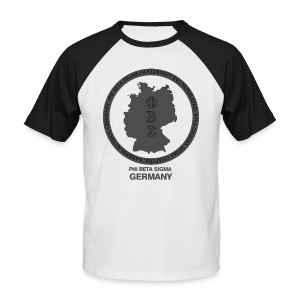 logo for shirt - Männer Baseball-T-Shirt