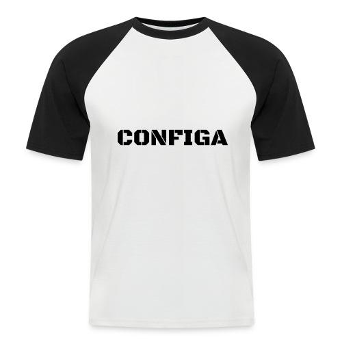 Configa Logo - Men's Baseball T-Shirt