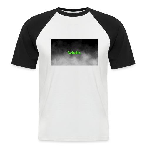 Nebelix - Männer Baseball-T-Shirt