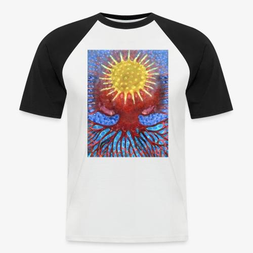 Niebiańskie Drzewo - Koszulka bejsbolowa męska