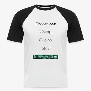 Choose one... - Koszulka bejsbolowa męska